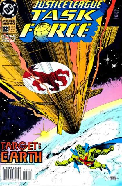 Justice League Taskforce 12 - Dc - Albrecht - Friedman - Outer Space - Planet