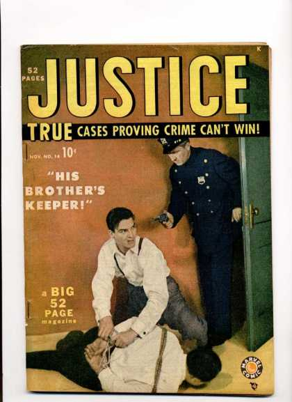 Justice 14 - True Cases - Police - His Brothers Keeper - Crime Cant Win - Rope