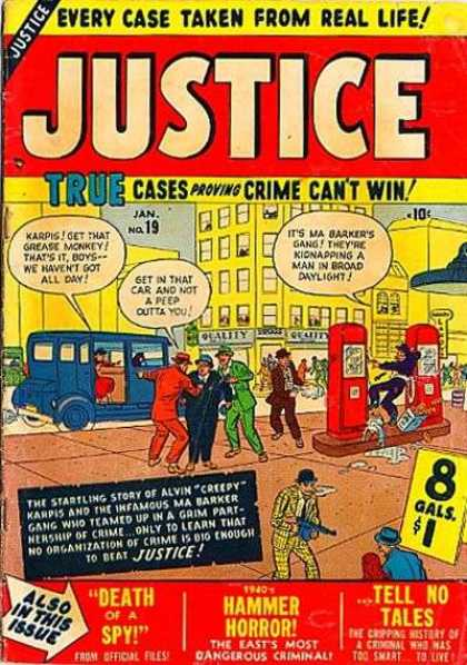 Justice 19 - Death Of A Spy - Car - Hammer Horror - Machine Gun - Robbers