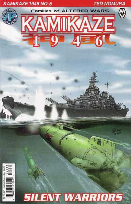 Kamikaze 1946 5 - Families Of Altered Wars - Ted Nomura - Ship - Submarine - Sea