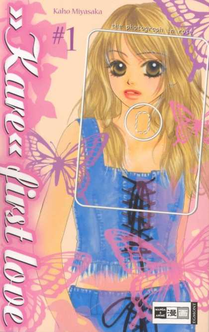 Kare First Love 1 - Butterflies - The Photograph In Rose - Blonde - Blue Corset - Manga U0026 Anime