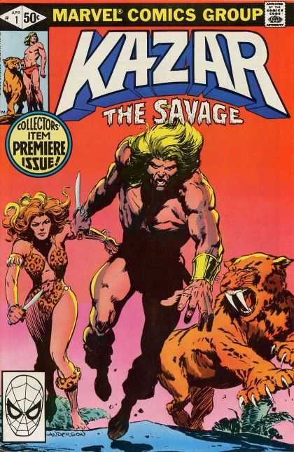 Kazar 1 - Unleash The Beast - A Mand And His Animal - Kazar The Brave - A Man A Woman And A Lion - Watch Out World