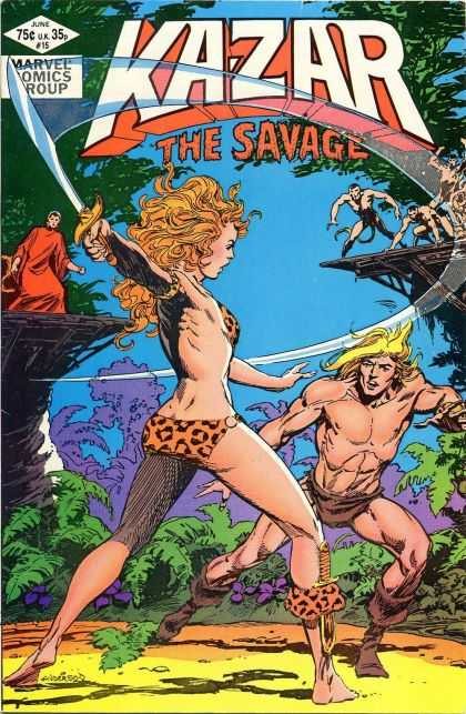 Kazar 15 - Kazar - Marvel - Savage - Warrior - Jungle