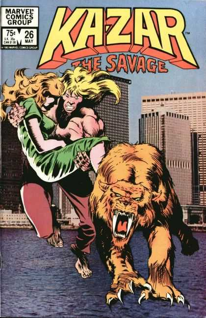 Kazar 26 - City - Sabretooth - Woman - Marvel
