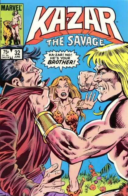 Kazar 32 - Savage - Family Doesnt Matter - The Woman Between Them - Brain Vs Brawn - Primitive