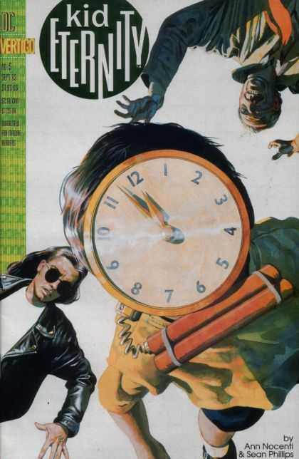 Kid Eternity 5 - Vertigo - Dc - Clock - Bomb - Time
