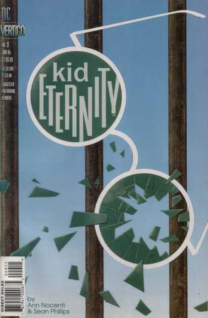 Kid Eternity 9 - Glasses - Break - Dc - Vertigo - Kid