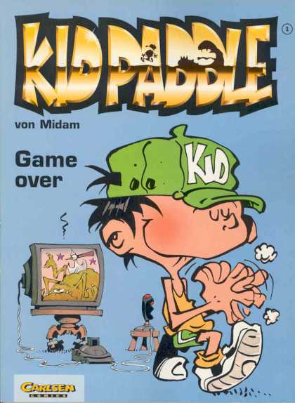 Kid Paddle 1 - Video Game - Tv - Childern - Monster - Hat