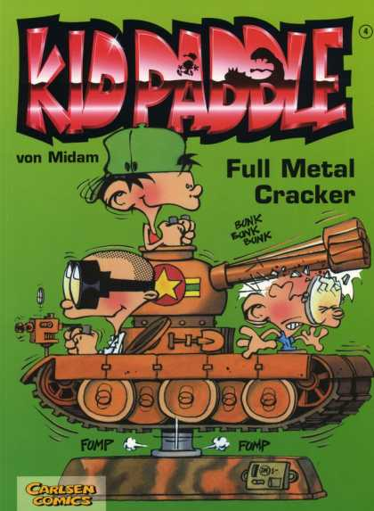 Kid Paddle 3 - Kid Paddle - Full Metal Cracker - Tank - Gold Star - Coin Operated