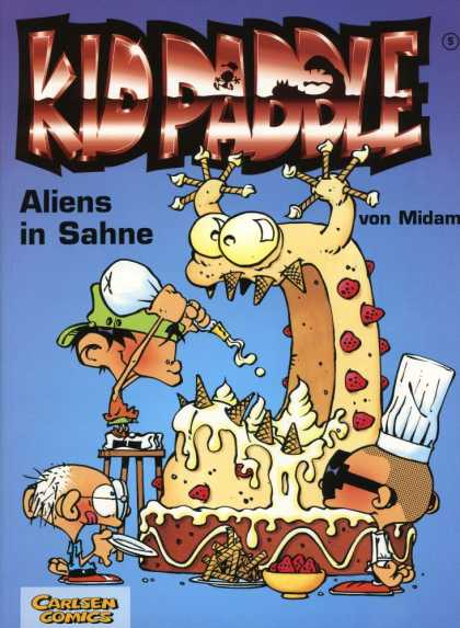 Kid Paddle 4 - Cake - Aliens - Sahne - Von Midam - Kids
