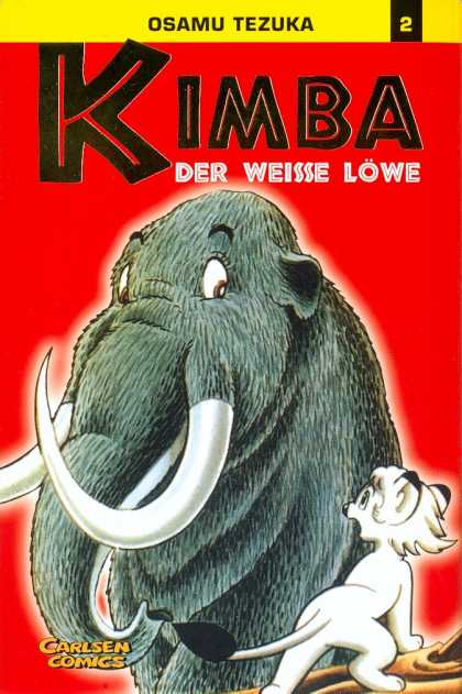 Kimba 2 - Elephant - Cat - Words - Red - Yellow