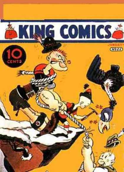 King Comics 22 - Rope - Vulture - Cliff - Feather - Popeye