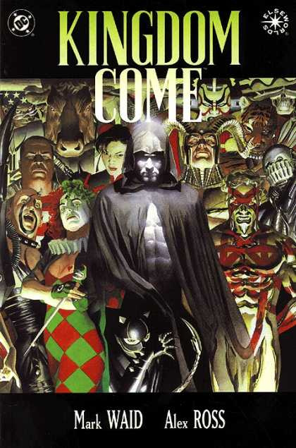 Kingdom Come 1 - Spectre - Figure In Black Cloak - Ghostly - Horns - Cow Head - Alex Ross