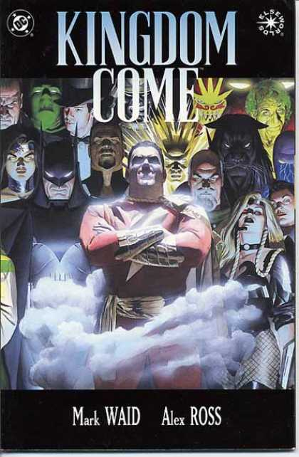 Kingdom Come 3 - Marvell - Fog - Disapear - Heroes - Creatures - Alex Ross