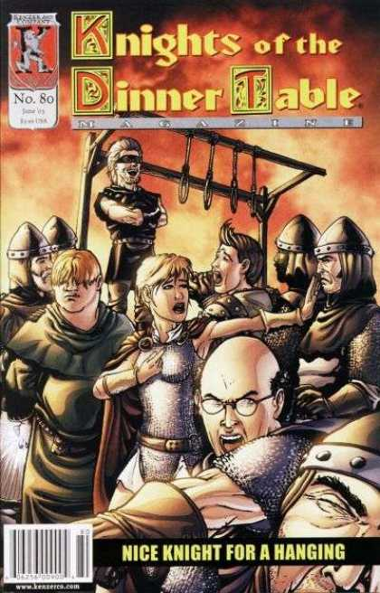 Knights of the Dinner Table 80 - Nice Knight For A Hanging - Noose - Army - Soldiers - Bald Man