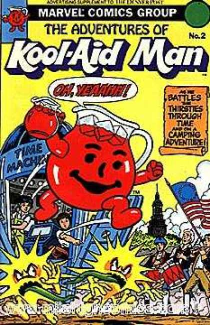 Kool-Aid Man 2 - Cherry Flavored - Battling Thirst - Oh Yeaahh - Tme Machine - Down Through The Ages