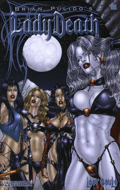 Lady Death: Lost Souls 0 - Andrew Dalhouse, Juan Ryp