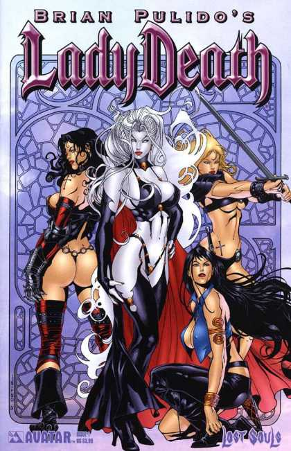 Lady Death: Lost Souls 1 - Andrew Dalhouse
