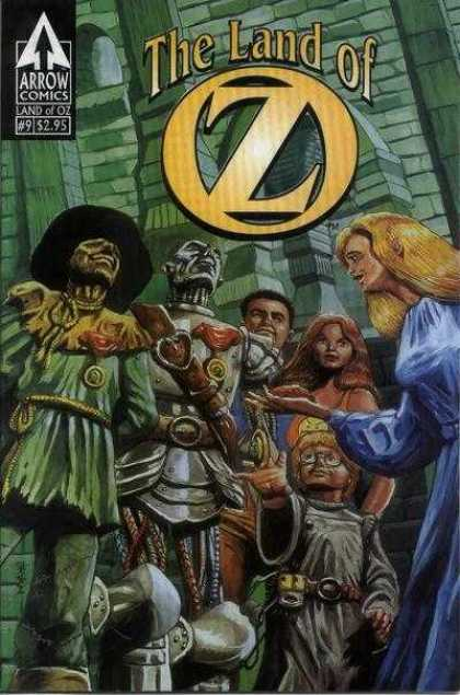 Land of Oz 9 - Arrow Comics - Woman - Girl - Iron Man - Man