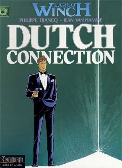 Largo Winch 6 - Philippe Francq - Jean Van Hamme - Dutch Connection - Suit - Gun