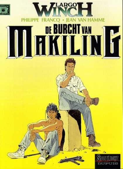 Largo Winch 7 - Man - Uzi - Dupuis - Burcht - Makiling