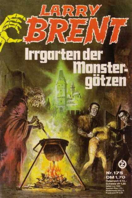 Larry Brent - Irrgarten der Monstergötzen