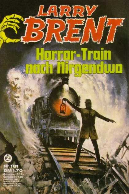 Larry Brent - Horror-Train nach Nirgendwo