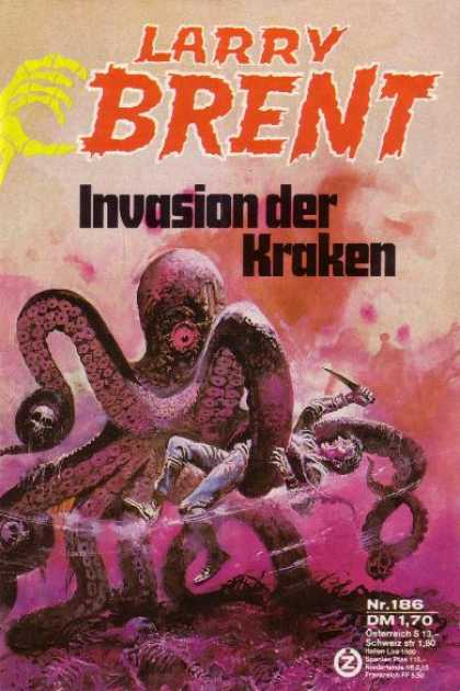 Larry Brent - Invasion der Kraken
