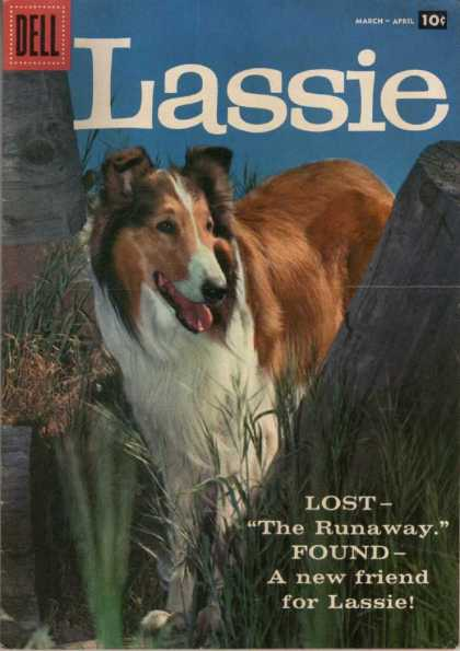 Lassie 39 - Dell - Dog - 10 Cents - Animal - April