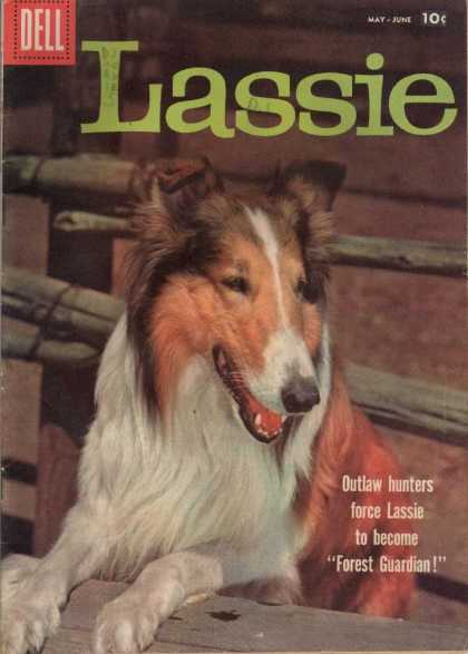 Lassie 40 - Dell - Dog - Hunters - Lassie - Forest Guardian
