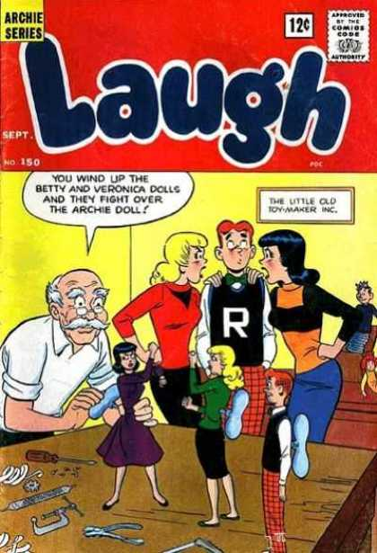 Laugh Comics 150