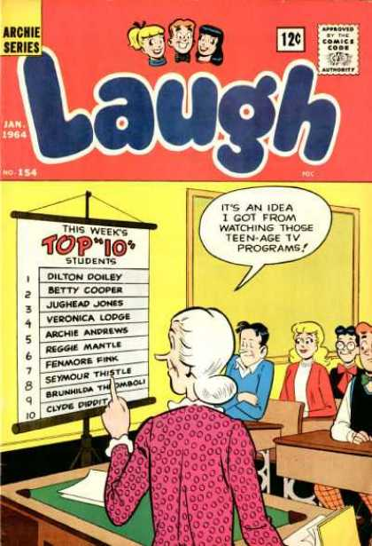 Laugh Comics 154