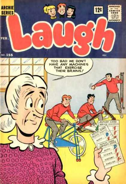 Laugh Comics 155