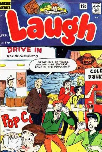 Laugh Comics 179
