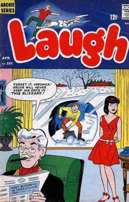 Laugh Comics 181
