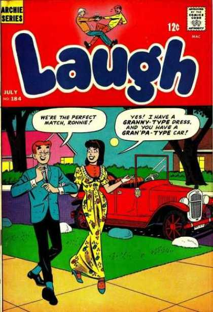 Laugh Comics 184