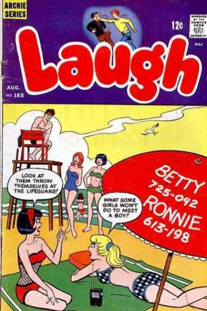 Laugh Comics 185