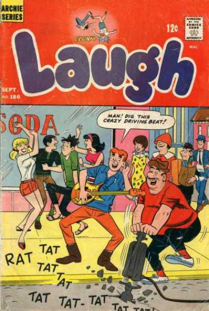 Laugh Comics 186