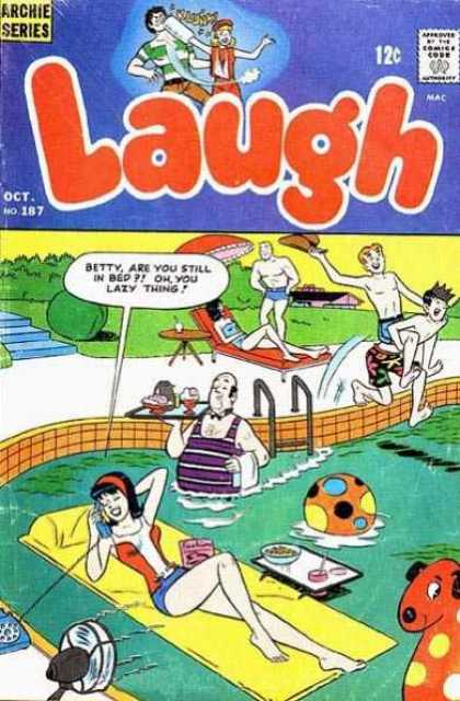 Laugh Comics 187