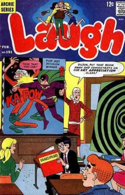Laugh Comics 191 - Archie - Archie Comics - Laugh - Funny - Class