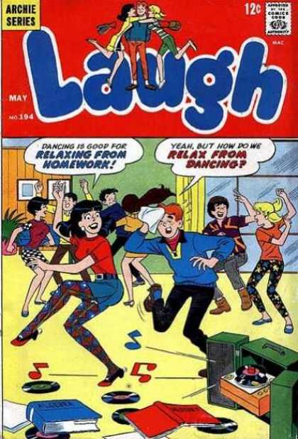 Laugh Comics 194 - Archie - Venus - Books - Dancing - Party