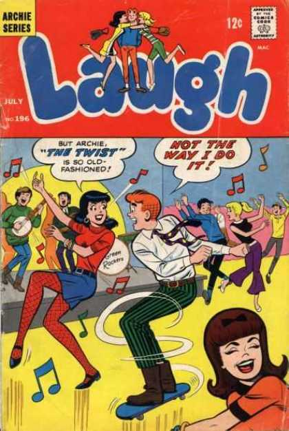 Laugh Comics 196