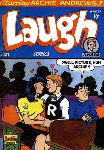 Laugh Comics 21