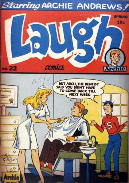 Laugh Comics 22
