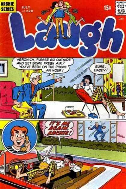 Laugh Comics 220 - Archie Series - Comics Code - Man - Woman - Youth