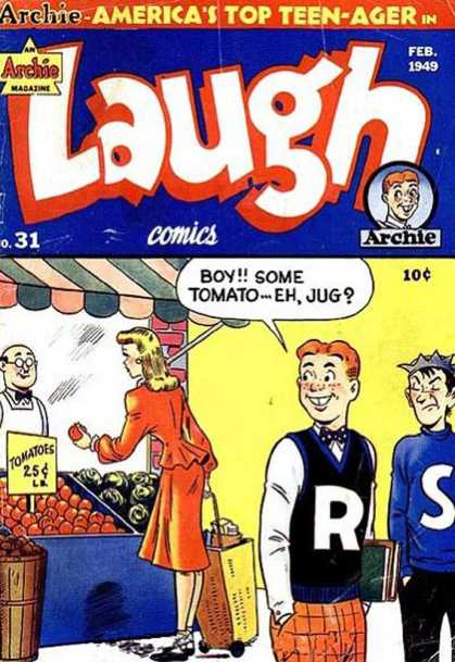 Laugh Comics 31