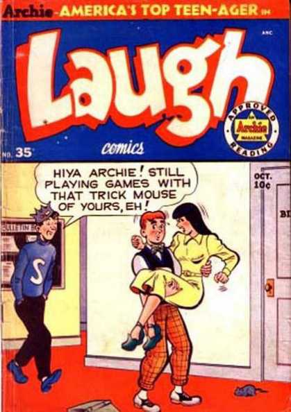 Laugh Comics 35