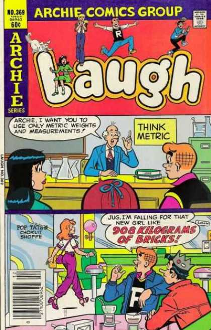 Laugh Comics 369 - Archie - Shop - Shopkeeper - Chemistry - Science