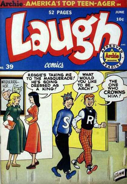 Laugh Comics 39