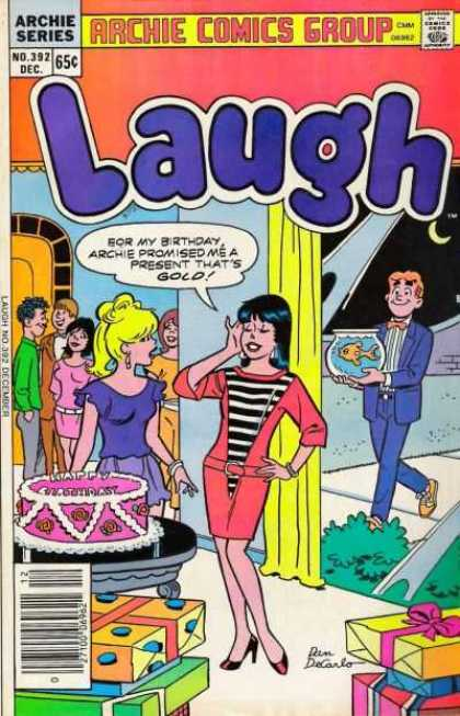 Laugh Comics 392 - Comics Code Authority - Speech Bubble - December - Archie - Veronica